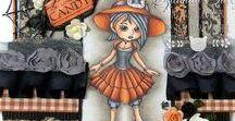 Halloween Cards & Designs / Halloween Papercraft Designs