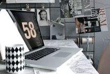 Decor / Inspiração em decoração, principalmente para Home Office :)
