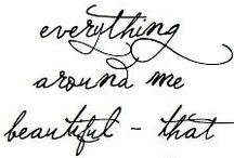 Art / Typography &  Lettering
