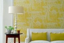 Sunshine yellow / Sunshine yellow never fails to create a cheerful mood.