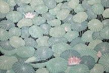 Ray Morimura - Hasui Kawase - Hiroshi Yoshida -  Shiro Kasamatsu - Yan Nascimbene / ... and illustrations from similar artists (woodblock prints).