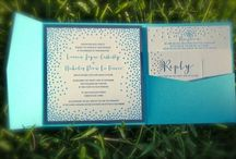 all about the paper: invitation inspirations / Chan and Aaron's wedding