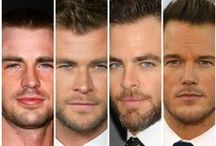 Chris⁴ / Evans, Hemsworth, Pine and Pratt  / by Sherry Owens