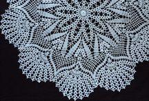 LaTricoteira Shop / Crochet doily etsy shop