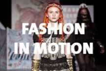Fashion in Motion / Fashion in Motion is a series of live catwalk events presented at the V&A, bringing catwalk couture to a wider audience by modelling it against the beautiful backdrop of the Museum.