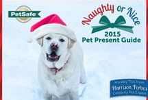 Naughty or Nice Pet Presents / For each product purchased on this board, a toy will be donated to a animal shelter.  / by PetSafe Brand