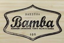 Bamba Longboards / Somo pictures of our Handmade bamboo & fabric inlayed longboards. Hope you like them!!!