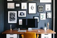 OFFICE SPACE / Inspiring and stylish office space ideas.