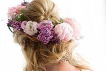 Wedding Day: Flower Crowns