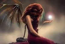 Fantasy and Otherworldly Art / Artwork that inspires my muse.