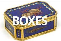 Boxes / Golden and other boxes