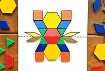Math Activities and Games / Math lessons for teachers, activities, games, centers, stations, daily math, mini lessons, assessments, crafts, and hands on activities to teach all things math to preschool, Kindergarten, and primary children.