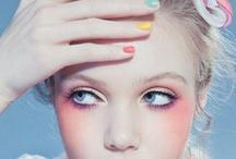 Hair & Make / 三つ編みアレンジ、前髪あり、濃いめのアイメイク、薄めの色のリップ、などを集める傾向あり。 / by Eiko