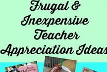 Teacher Appreciation Galore / Things to make or give to a teacher to show how much we appreciate what they do for our kids.