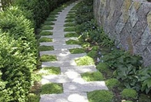 Landscaping: Paving,  Paths and Patios / If you walk on it in your garden, it's here.  / by Tsu Nimh
