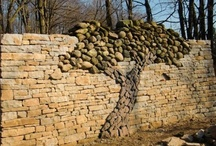 Landscaping: Fences, walls and arbors / Privacy fences, animal barriers, etc.  / by Tsu Nimh