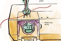 Ideas to steal: Sewing and Patterns / The basic techniques of sewing and pattern making. / by Tsu Nimh