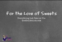 Recipes: Desserts / All kinds of sweet desserts to satisfy your sweet tooth! / by That Bald Chick