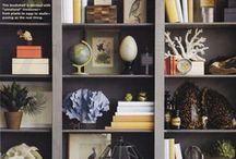 Interiors: bookcase styling / Books books books / by Annie Schwebel
