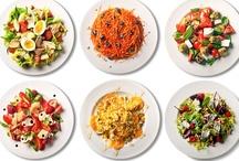 eats // salads + dressings / by Natasha