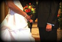 D & B wedding Milwaukee / Orange, Red, Cream