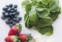 juicing + smoothies / by Brittany Ramsey