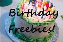 Birthday Freebies Galore