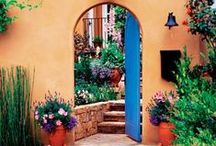 Make an Entrance / Create and entrance to your home that is inviting, and perfect for sale time!