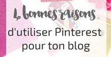 Trucs et astuces Pinterest / Infos, conseils, trucs et astuces pour utiliser Pinterest, optimiser son profil et gagner en visibilité.