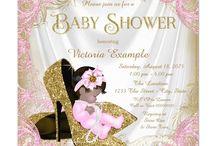 Justin's baby girl shower