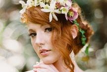 Redhead brides / by Jeannine @ Be Loved