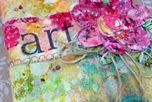 mixed media art / Mixed media ideas and inspiration. / by Marjolaine Walker