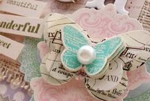 Embellishments for Papercrafting / Embellishments to make and add to scrapbook pages or mixed media art.