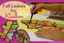 October in Kindergarten / This board includes ideas, activities, and resources for October in the kindergarten classroom.
