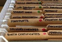 Organizing Tips / by Rachel Norris