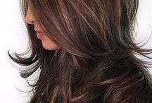 hair / The best hairstyles on the web. Hairstyles for long and short hair, braids, buns, highlights, hair color, hair cuts, hair products
