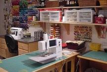 sewing room / by Nancy Goemans