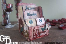 Gina's Designs Chipboard / Projects made with #chipboard from #Gina's Designs