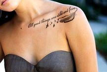 Tattoos / by Victoria Dietrich