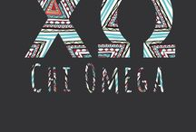 All Things Chi Omega / by Christine Forsythe
