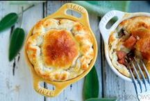 Pi(e) Day / Celebrate math on 3.14 with these sweet and savory pies to tempt your tastebuds.