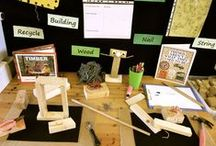 Kindergarten Centers: STEM Makerspace Tinkering / This board includes ideas, activities, and resources for a kindergarten classroom STEM, makerspace, or tinkering center.