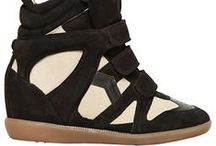 Isabel Marant Sneaker Wedges / by Fashion Gone Rogue