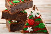 Christmas Eats and Treats / Wish a loved one a holly jolly Christmas! Christmas gifts, Christmas flowers, Christmas decorations, Christmas cakes and more!