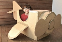 DIY Cardboard Toys / by Totally Kids fun furniture & toys