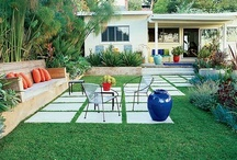 Gardens Mid Century Modern / Mid Century Modern Gardens.   Secret Design Studio is a design-focused building consultancy. We are passionate about quality residential design. We collect 20th Century chairs. We champion mid century modern architecture with an irregular blog. www.facebook.com/SecretDesignStudio / by Secret Design