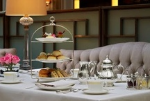 "All Things Tea, but esp High Tea! / Is there anything more relaxing as a cup of tea or anything more luxurious than a ""high tea"" in a swanky hotel? / by Irene/upa K"