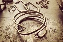 In the Studio / a look inside Nettie Kent Jewelry The process, the product and then some...