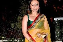 Celebrity Sarees / Extensive collection of sarees by Yellow Fashion.