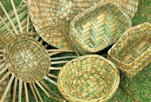 BASKETRY, ROPES, KNOTS & WEAVING / by Andrea Hyland